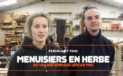 Apprendre un métier au Village Emmaüs Lescar Pau