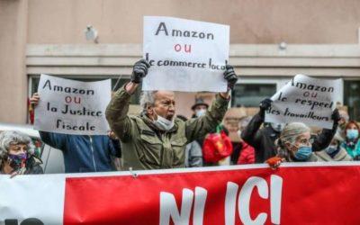 Contre l'installation d'Amazon à Morlaas-Berlanne